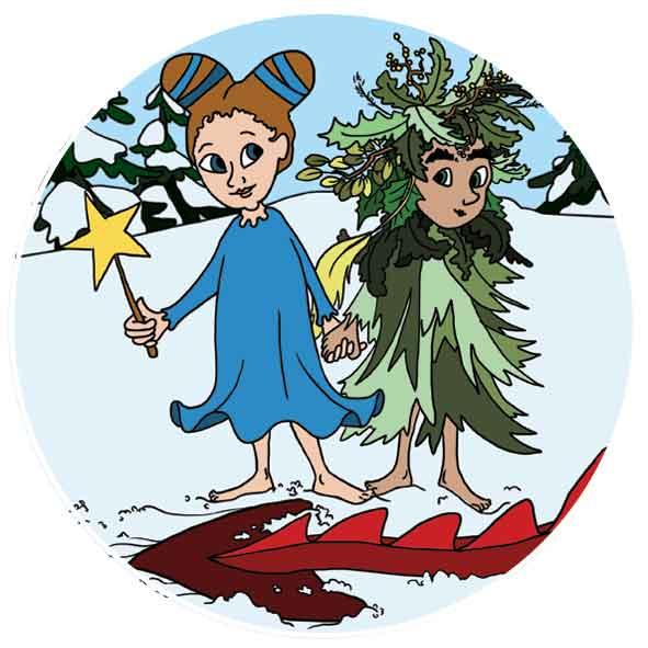 Kindertheater Hamburg - Weihnachtsfee Schneeflöckchen 1