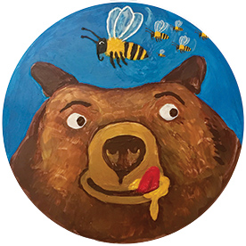 Hoheluftschiff Kindertheater Hamburg - Der Bär und die Bienen