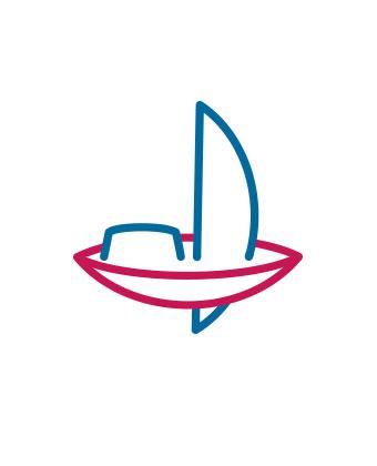 Hoheluftschiff Hamburg - Logo